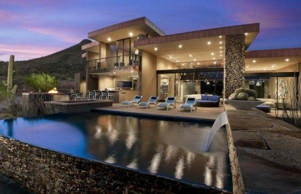 moderne villa de luxe | architecture, déco | Pinterest | House ...