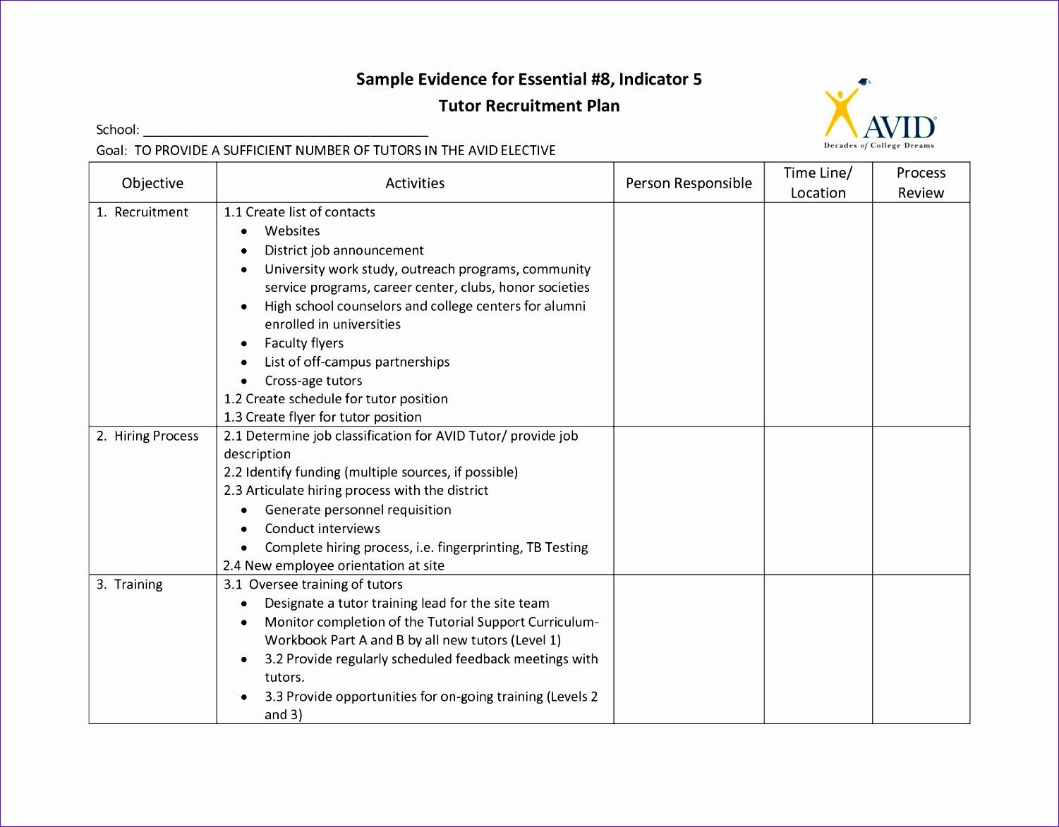 Workforce Plan Template Excel Awesome 6 Workforce Planning Template Excel Exceltemplates In 2020 Recruitment Plan Simple Business Plan Template How To Plan