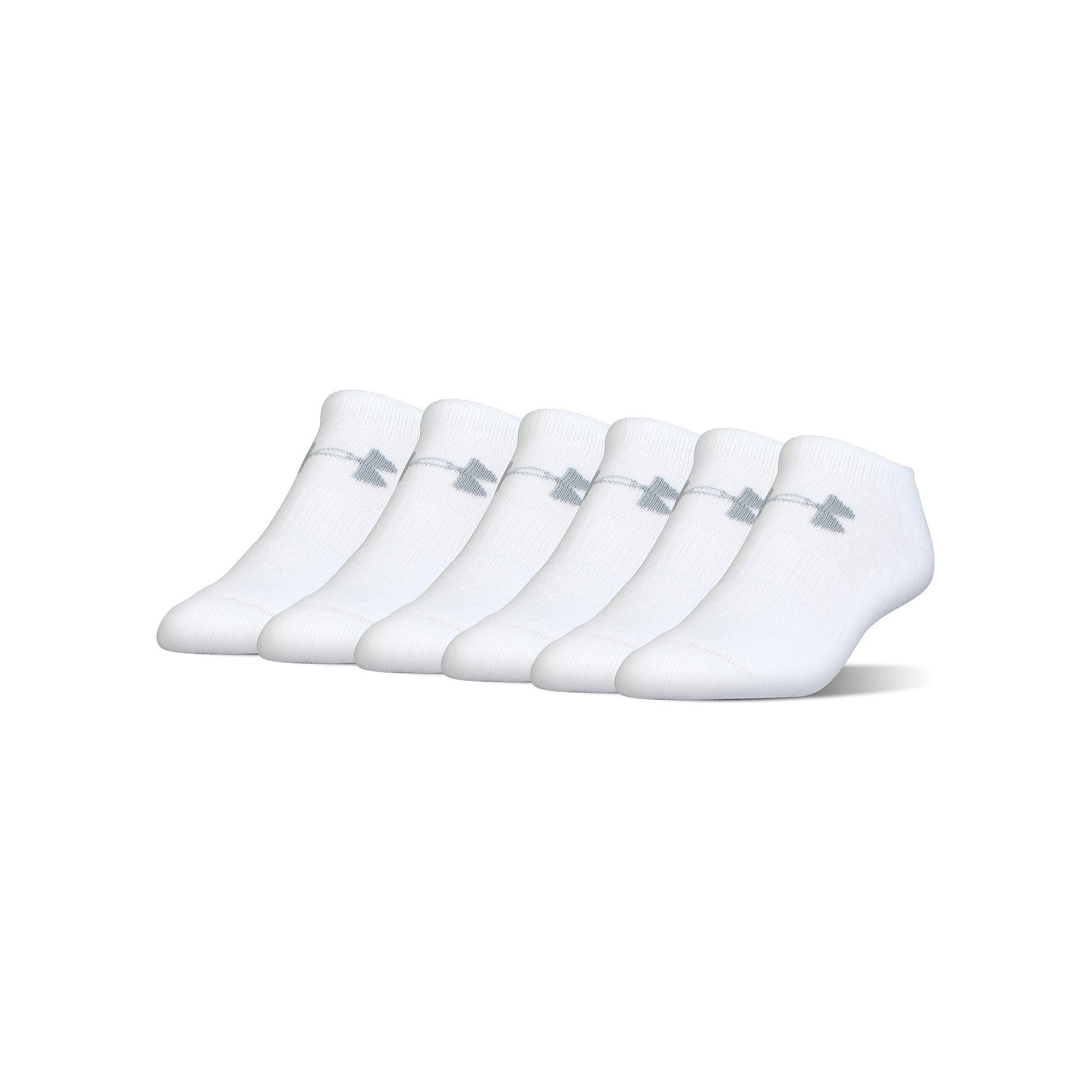 e7eada90471 Boys Under Armour 6-Pack No-Show Socks