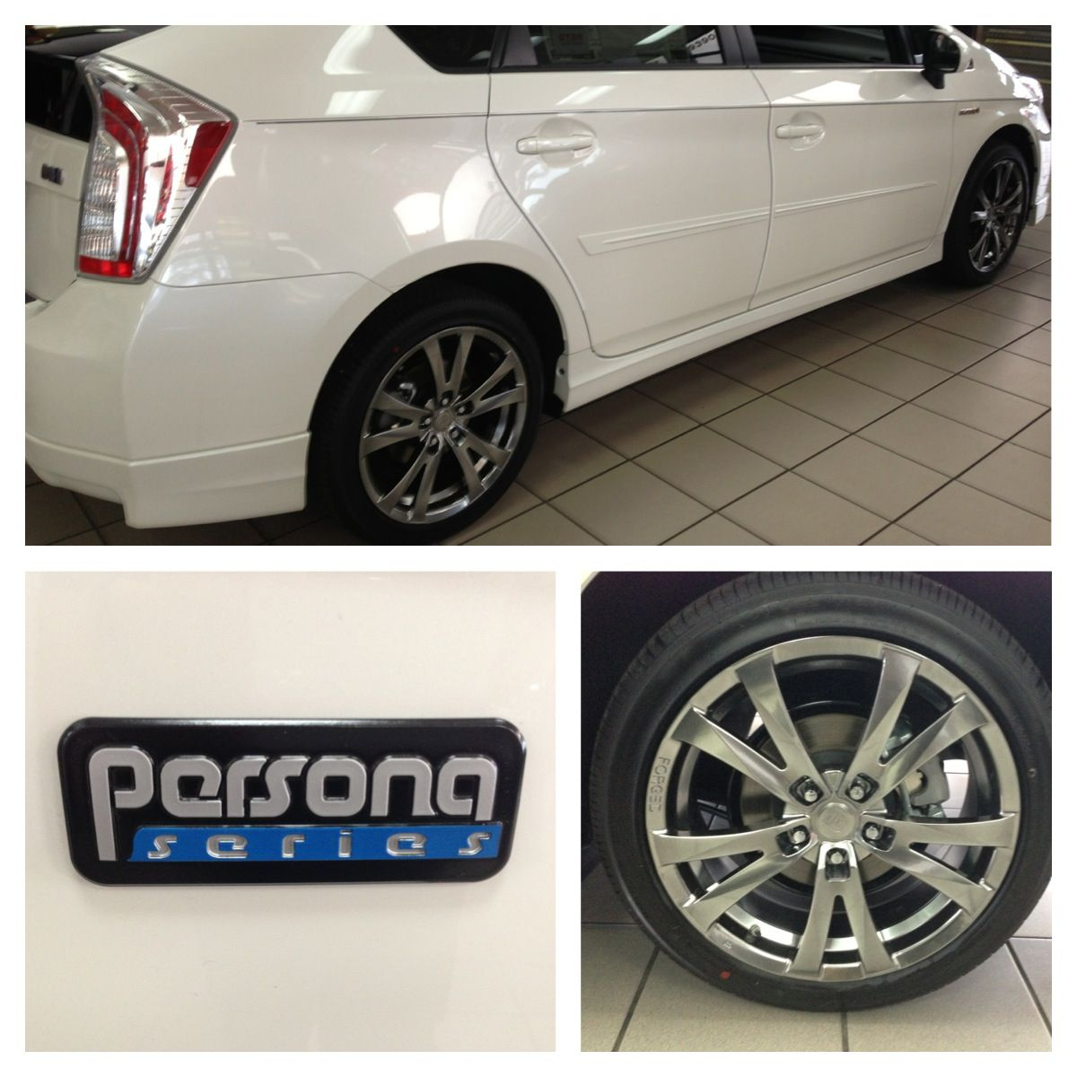 Toyota prius persona with 17 forged alloy wheels