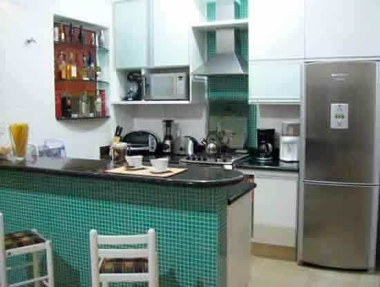 apartamento com cozinha americana - Pesquisa Google