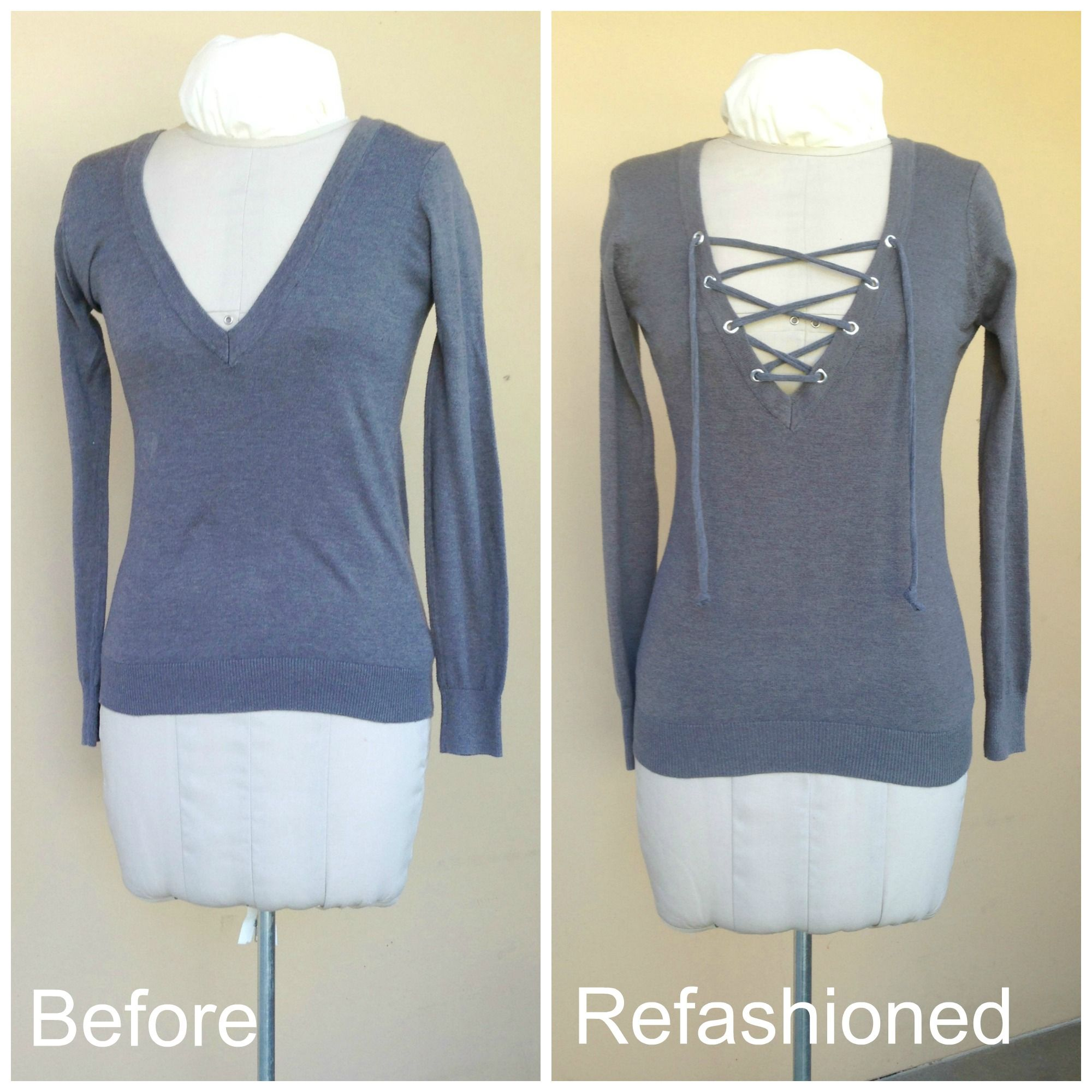 how to make a vest from a t shirt