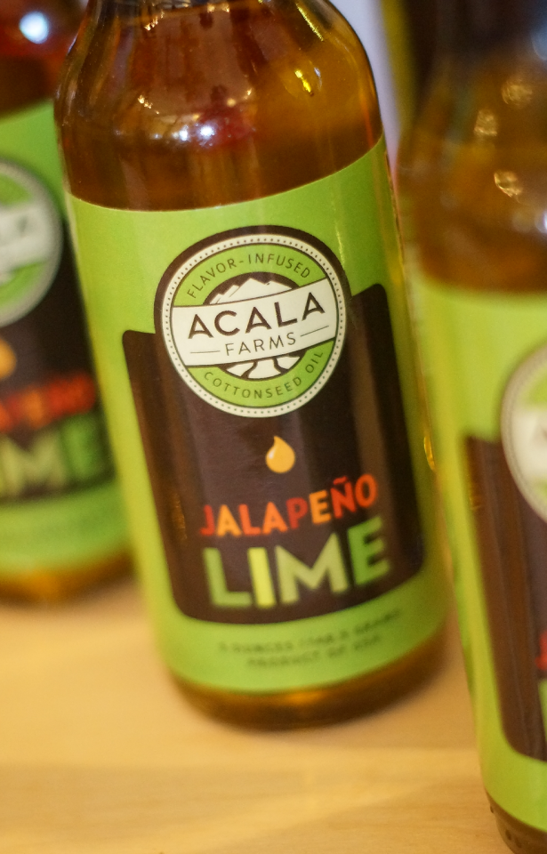 Jalapeno-Lime Infused Cottonseed Oil by Acala Farms on Gourmly