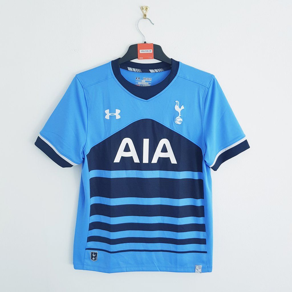 official photos f849d 12b89 Tottenham Hotspur blue away football shirt 2015/16 ...