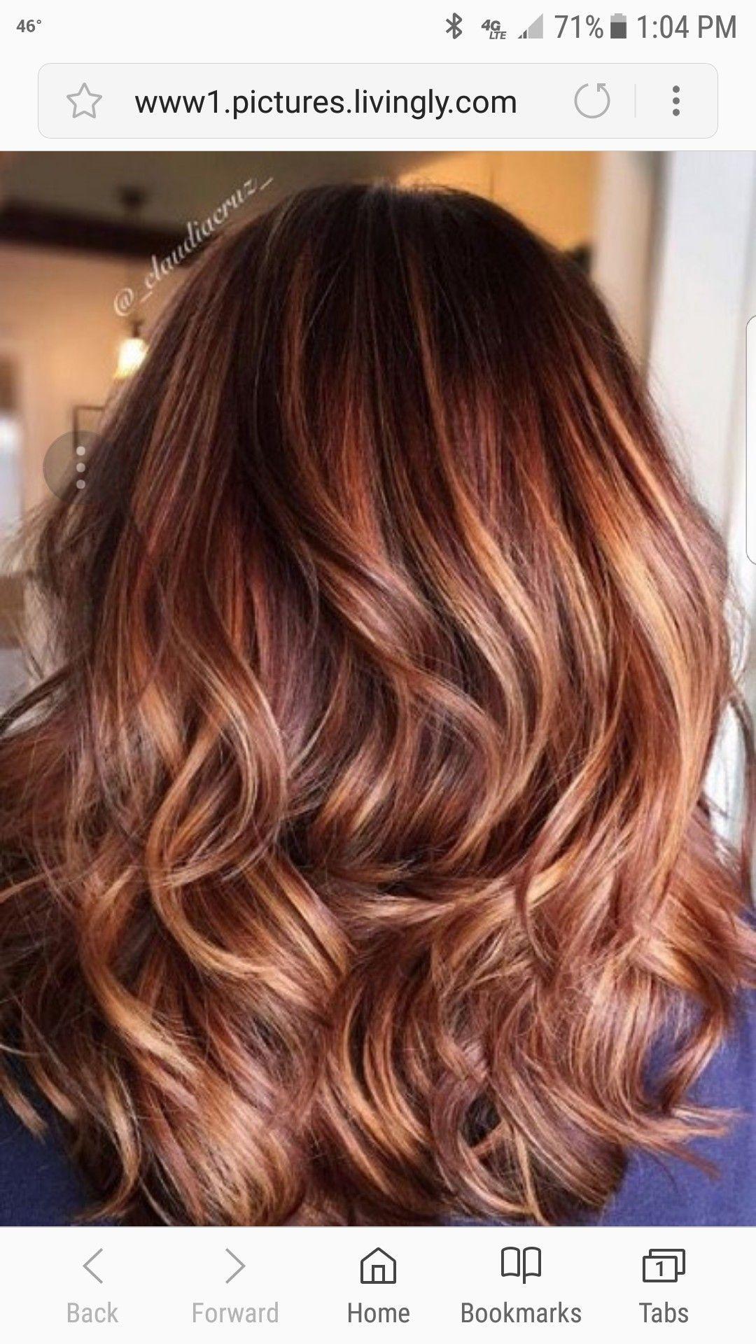 Auburn Lowlights Hair Color Caramel Hair Styles Hair Color Auburn