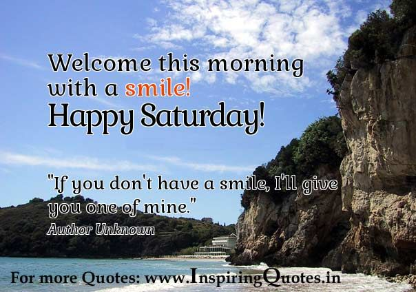 Image result for Happy Saturday with good thoughts