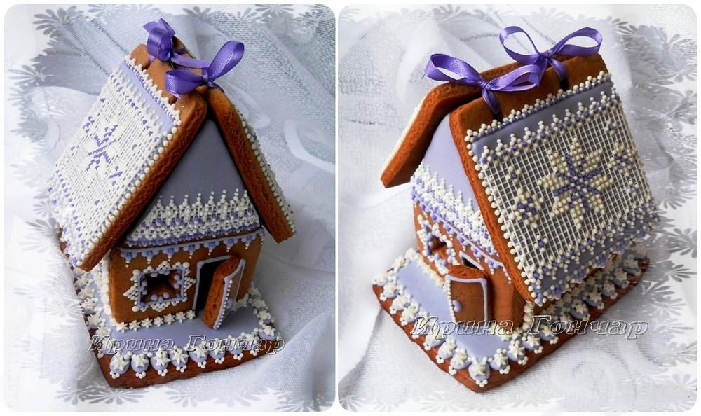 "Coolmathgames Com Christmas Ornaments: Gingerbread House ""Winter Lace"""