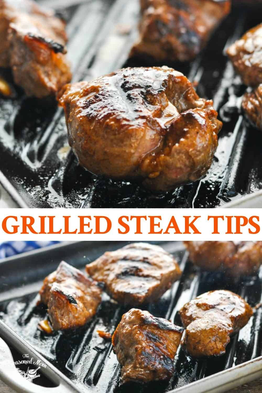 Grilled Steak Tips Recipe In 2020 Steak Tips Grilled Steak Grilling Recipes