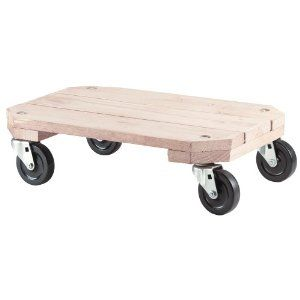 Shepherd 9854 Plant Dolly by Shepherd. $29.81. From the Manufacturer                12.5-Inch by 18.25-Inch Heavy duty Plant Dolly.                                    Product Description                12.5-Inch by 18.25-Inch Heavy duty Plant Dolly.