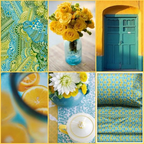 Make Turquoise Your Happy Go To Colour Dec The House
