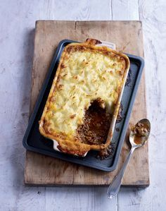 Cottage pie recipe from More Home Comforts by James Martin | Cooked