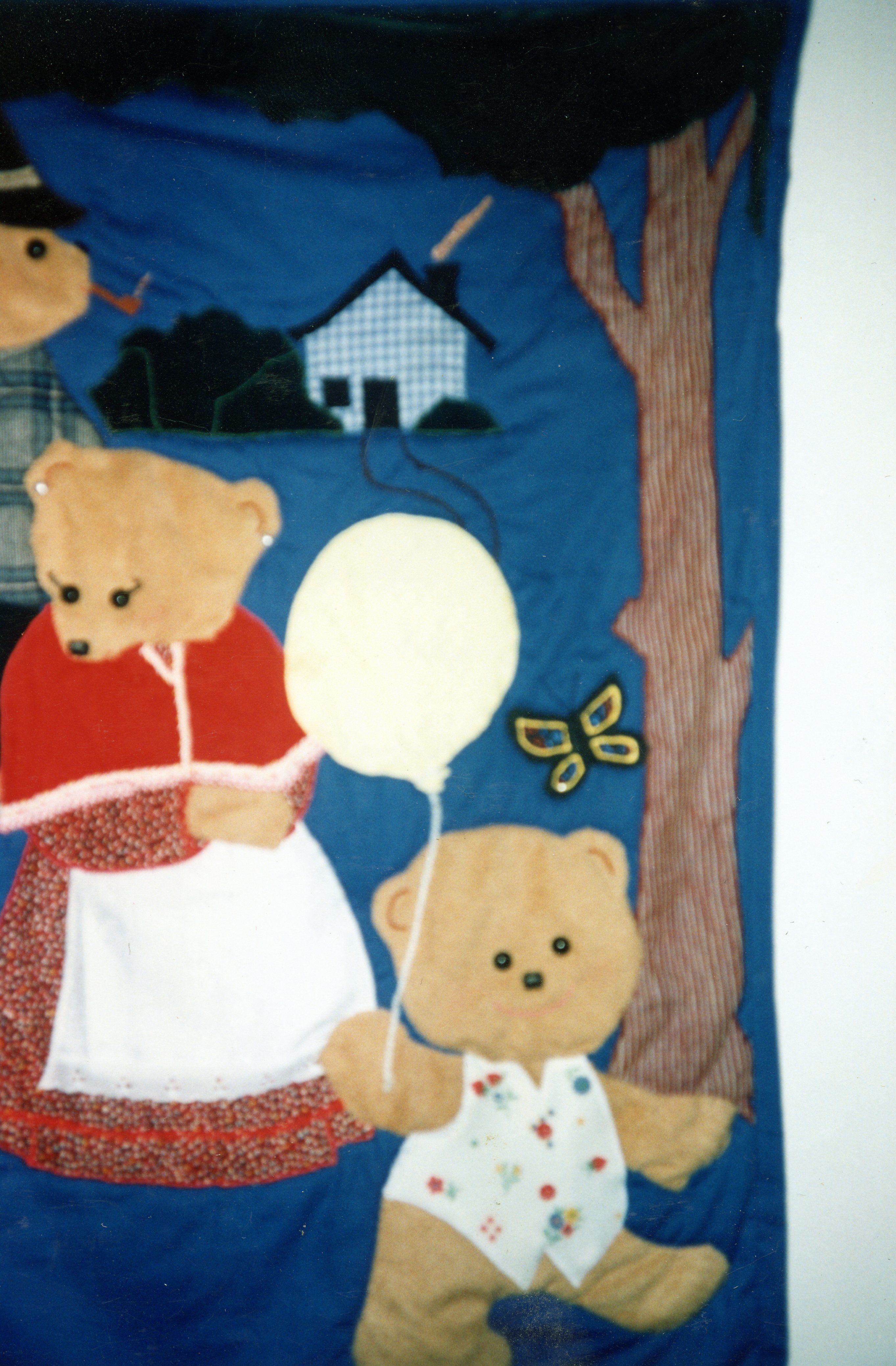 3 Bears Quilt I made--years ago