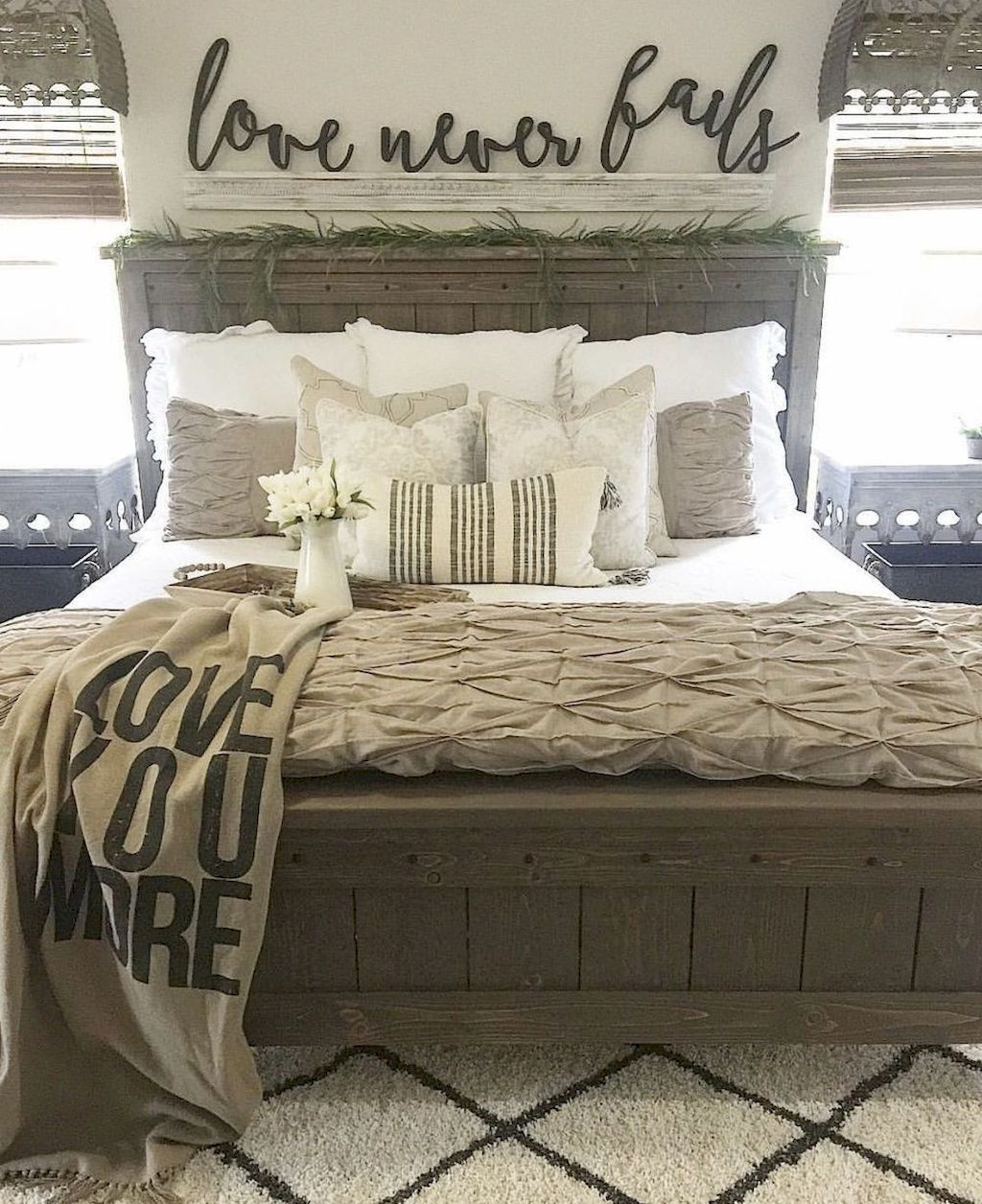 Rustic Farmhouse Master Bedroom Ideas 29 With Images