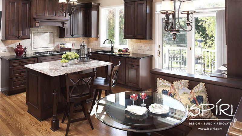 Woodbury kitchen featuring Lyptus cabinets in Mocha finish | Home ...
