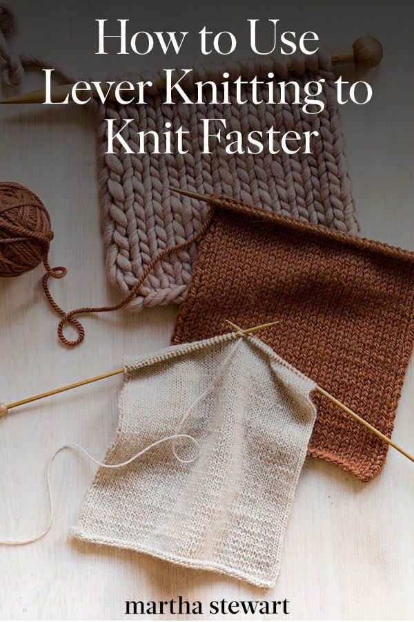 Why Lever Knitting Is Called the Fastest Method in the World #knittingpatterns