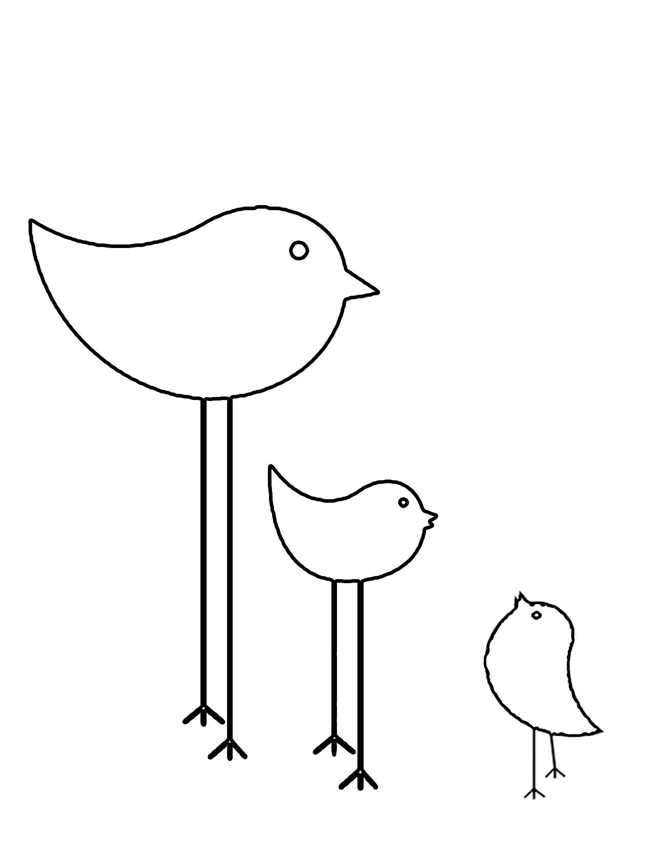 Chics Png 1 275 1 650 Pixels Bird Coloring Pages Applique Pattern Crazy Quilts [ 1650 x 1275 Pixel ]