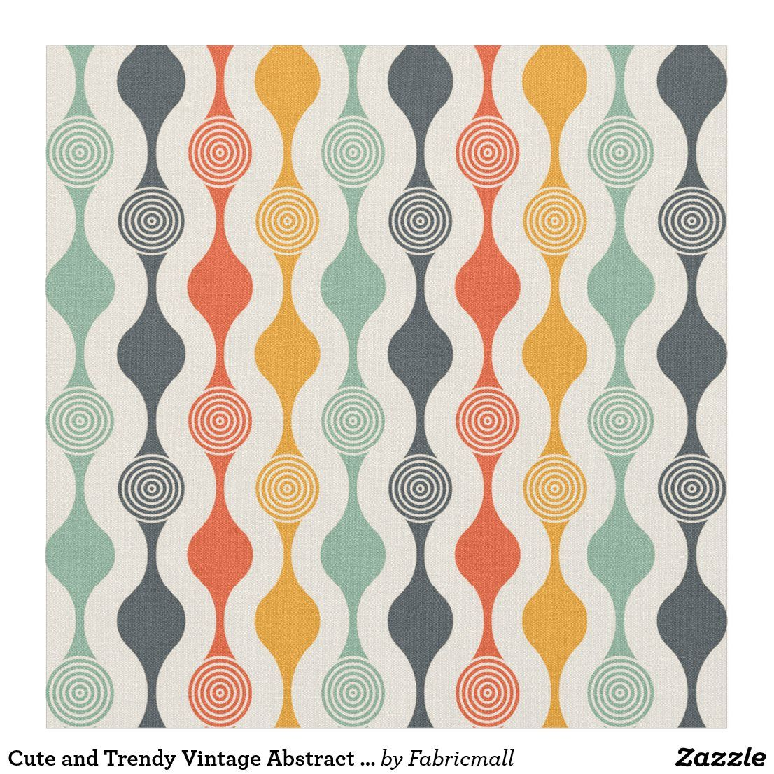 Cute And Trendy Vintage Abstract Fabric In 2020 Modern Upholstery Fabric Scandinavian Fabric Scandinavian Fabric Design
