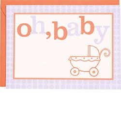 Oh Baby Buggy A7 Printable Baby Shower Invitations