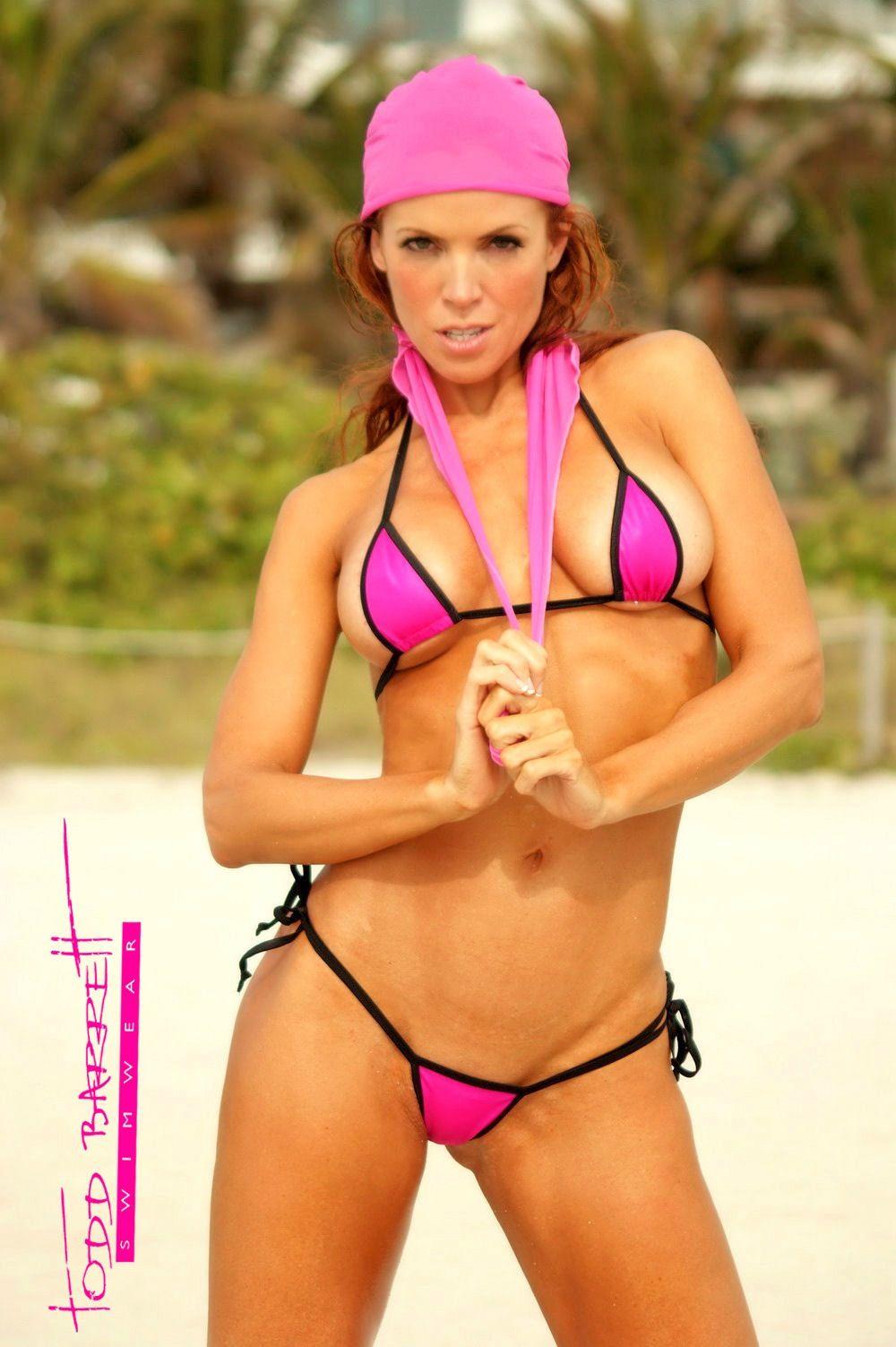3f4da6570c4 Micro Bikini - Micro G - 2 Piece Bikini - Todd Barrett Swimwear - 2014  Collection - New - Microkini - toddbarrettswimwear.com - Miami Beach,  Florida - Karen ...