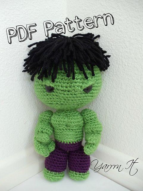 Hulk Sackboy Amigurumi pattern by Luciana Caro | Amigurumi, Ravelry ...