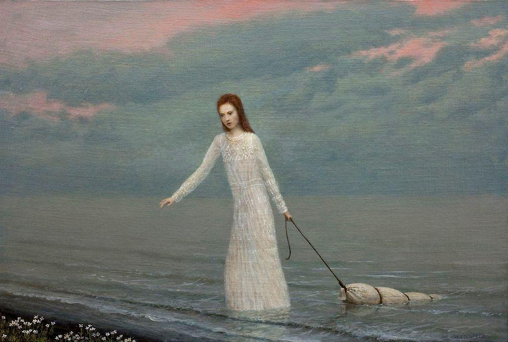 The Lake | Aron Wiesenfeld (suggestivism)