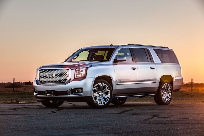 The Hennessey HPE650 Supercharged GMC Yukon Flies Suv