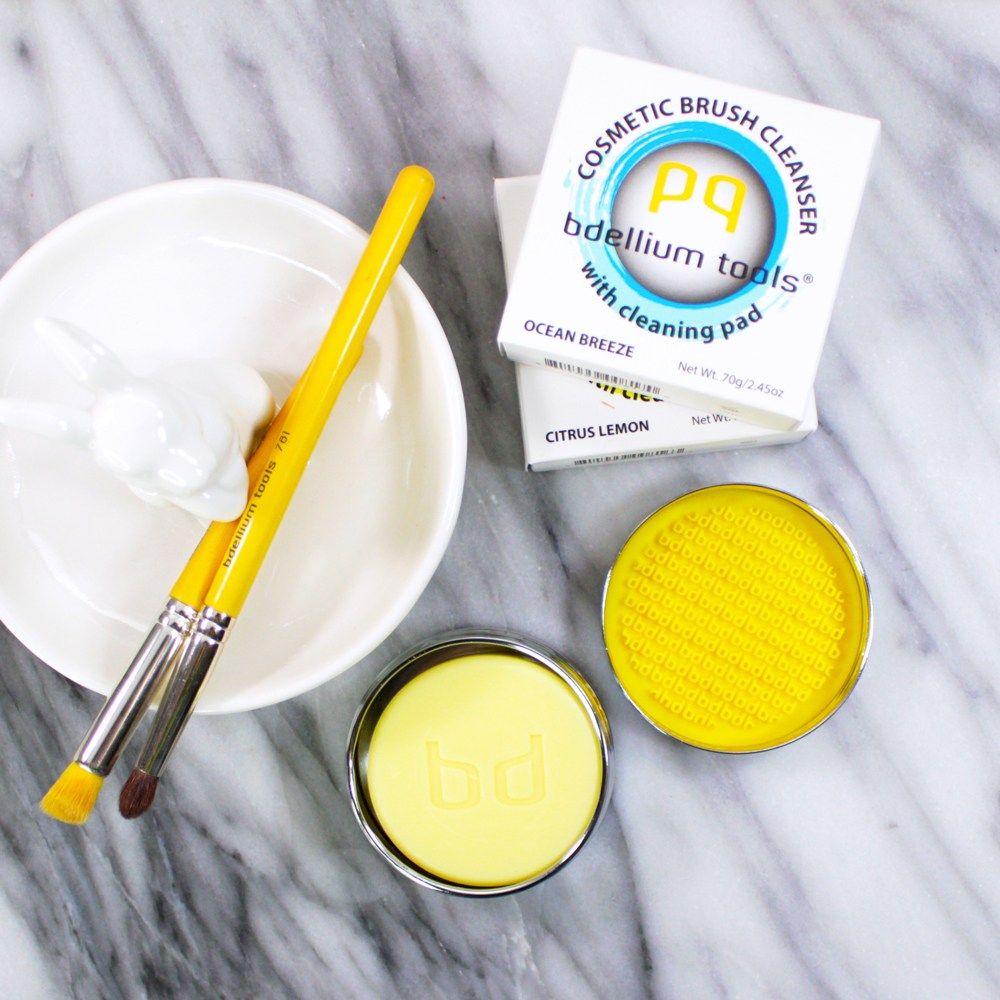 How to Clean Makeup Brushes Vegan makeup brush cleaner