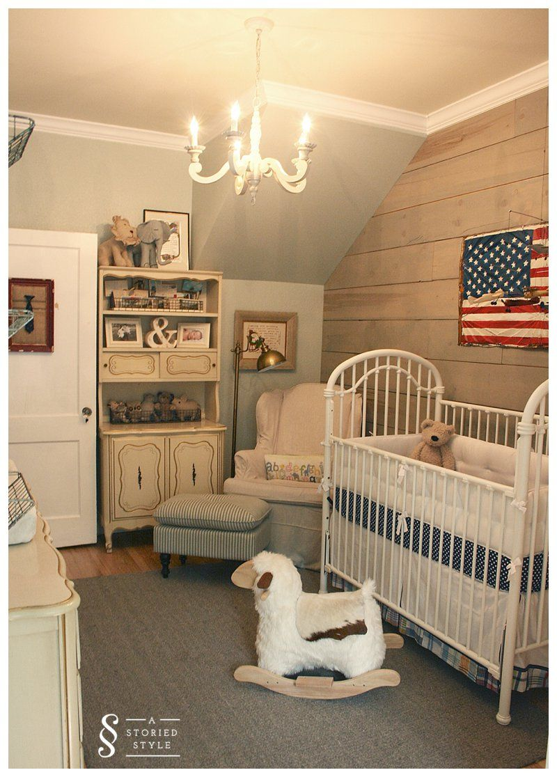 Vintage Americana Baby Boy Rooms Vintage Nursery Boy