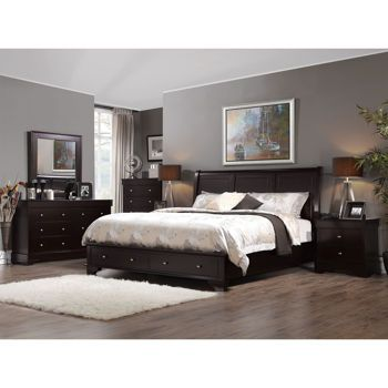 Nice Avalon 6 Piece King Storage Bedroom Set