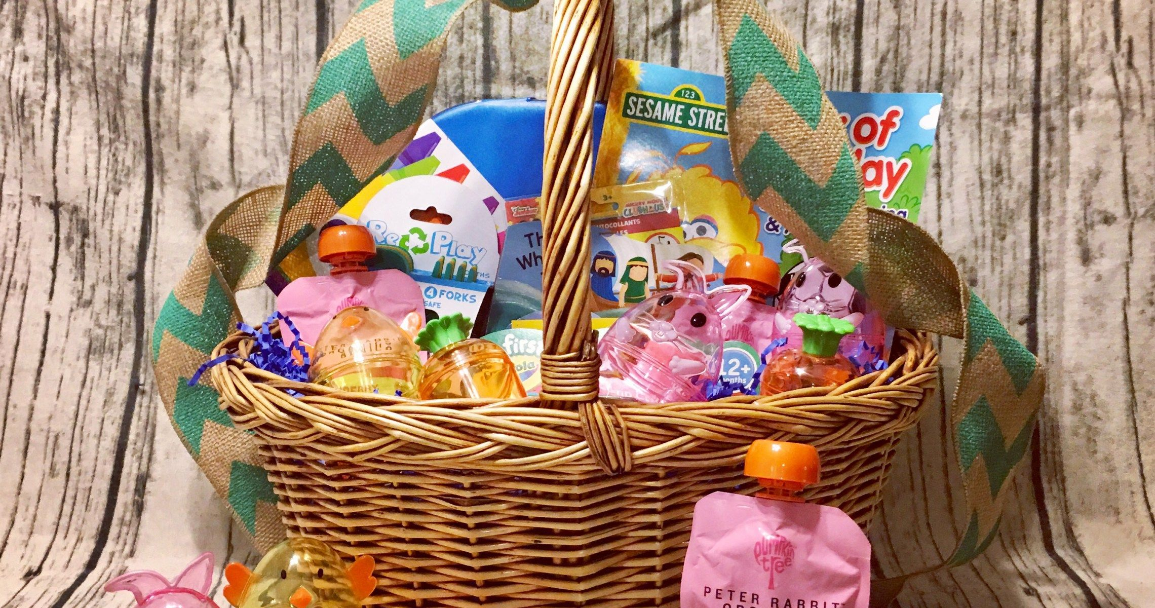 Creating my one year olds easter basket this lifeby us blog creating my one year olds easter basket negle Choice Image