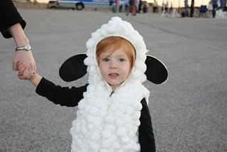 Little Sheep Costume For Hayden Too Cute For Suzie Pinterest