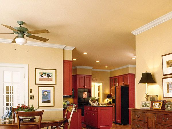 Best Red Kitchen Cabinetry Really Stands Out Against Cream 400 x 300