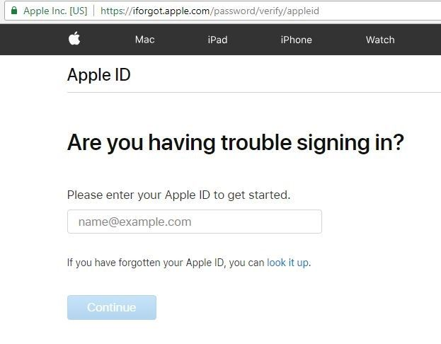 What To Do If I Apple ID Password