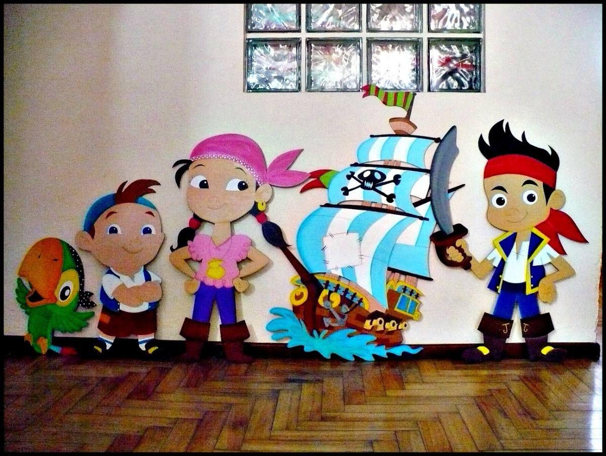 loro jake y los piratas del pais del nunca jamas fiestas de cumpleaos decoracion