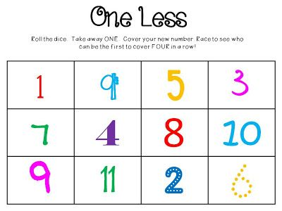 Free Math Game One Less Blog Love Pinterest Free Math Games