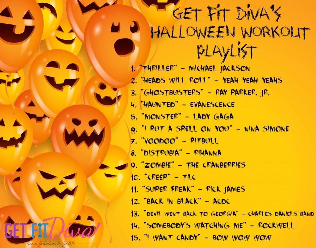Halloween #Workout #Music! 15 Songs to Freak Out To | Exercise ...