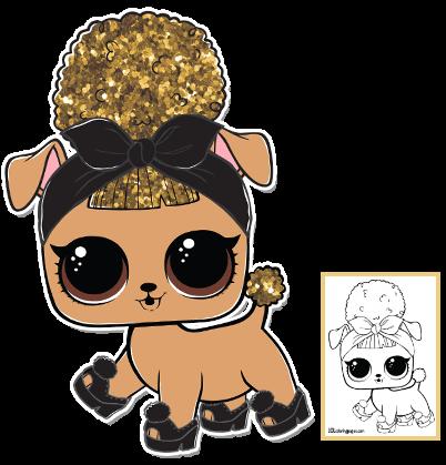 Pup Bee Series 3 Wave 2 L O L Surprise Doll Pets Lol Dolls Lol Paper Dolls
