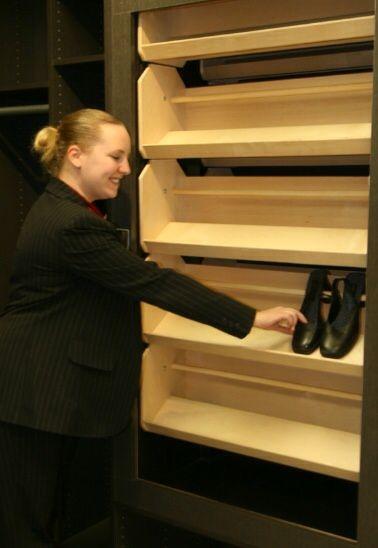 Rotating Horizontal Shelves Shoe Storage Shoe Carousel Rotating Shoe Rack