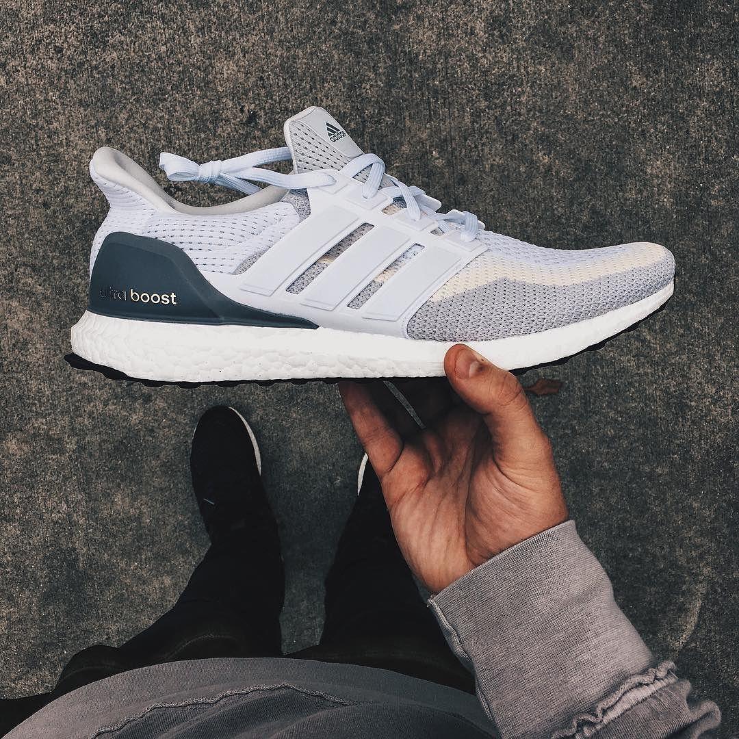 Adidas Ultra Boost White Gradient