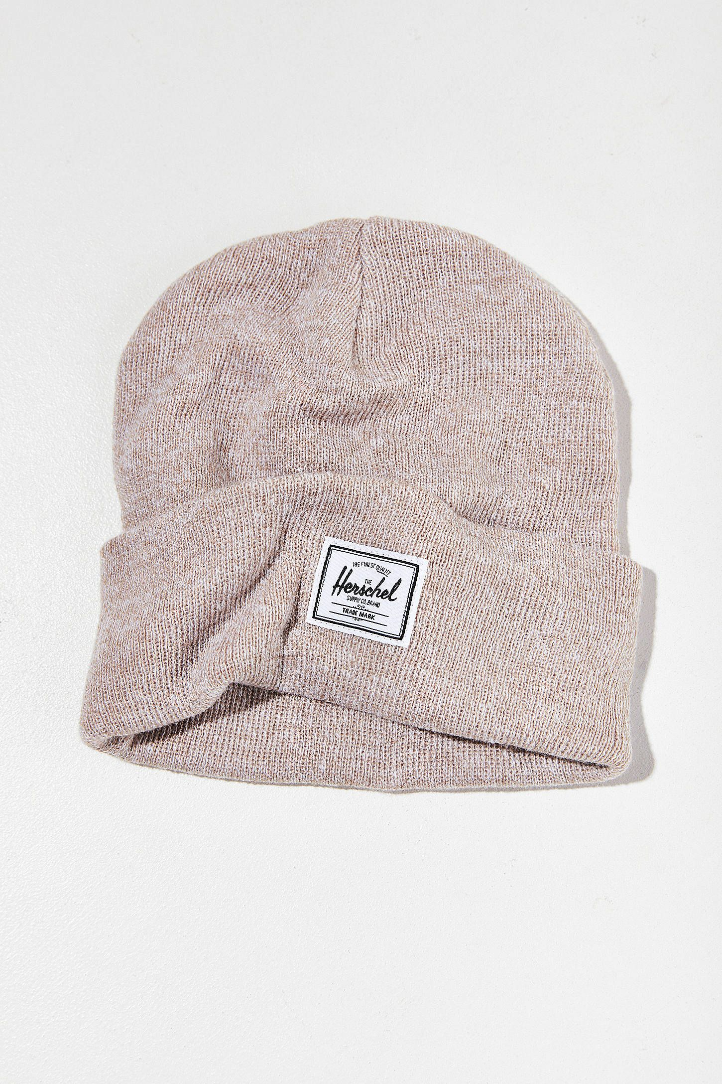ad87a1d9 Shop Herschel Supply Co. Elmer Logo Knit Beanie at Urban Outfitters today.  We carry all the latest styles, colors and brands for you to choose from  right ...