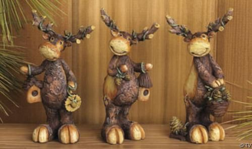 Moose Decorations Home All Categories Rustic Decor Rhpinterestcouk: Moose Figurines In Home Decor At Home Improvement Advice