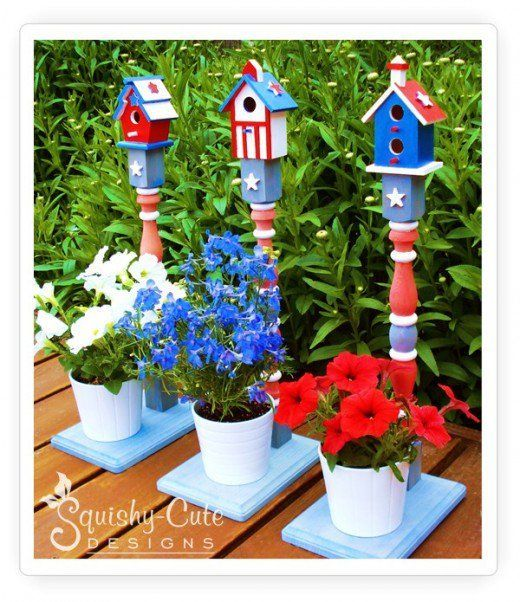 48 Patriotic Craft Ideas: 4th of July and Memorial Day #4th #Craft #Day #Ideas #July #Memorial #Patriotic