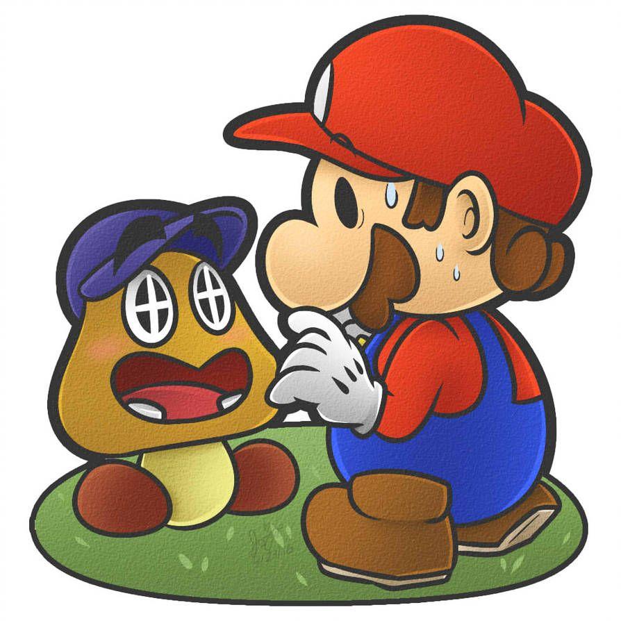 I M Your Biggest Fan By Https Www Deviantart Com Jojodear On Deviantart Your Biggest Fan Drawing Games Paper Mario