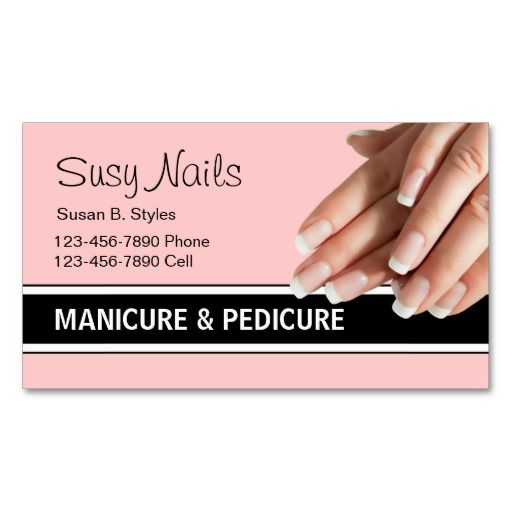 Beauty Nails Business Cards Zazzle Com In 2021 Manicurist Business Cards Beauty Nails Nails