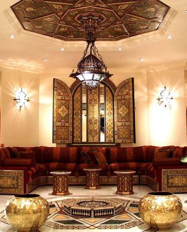 Moroccan Decor #NectarLifestyle Challenge Moroccan seating ideas