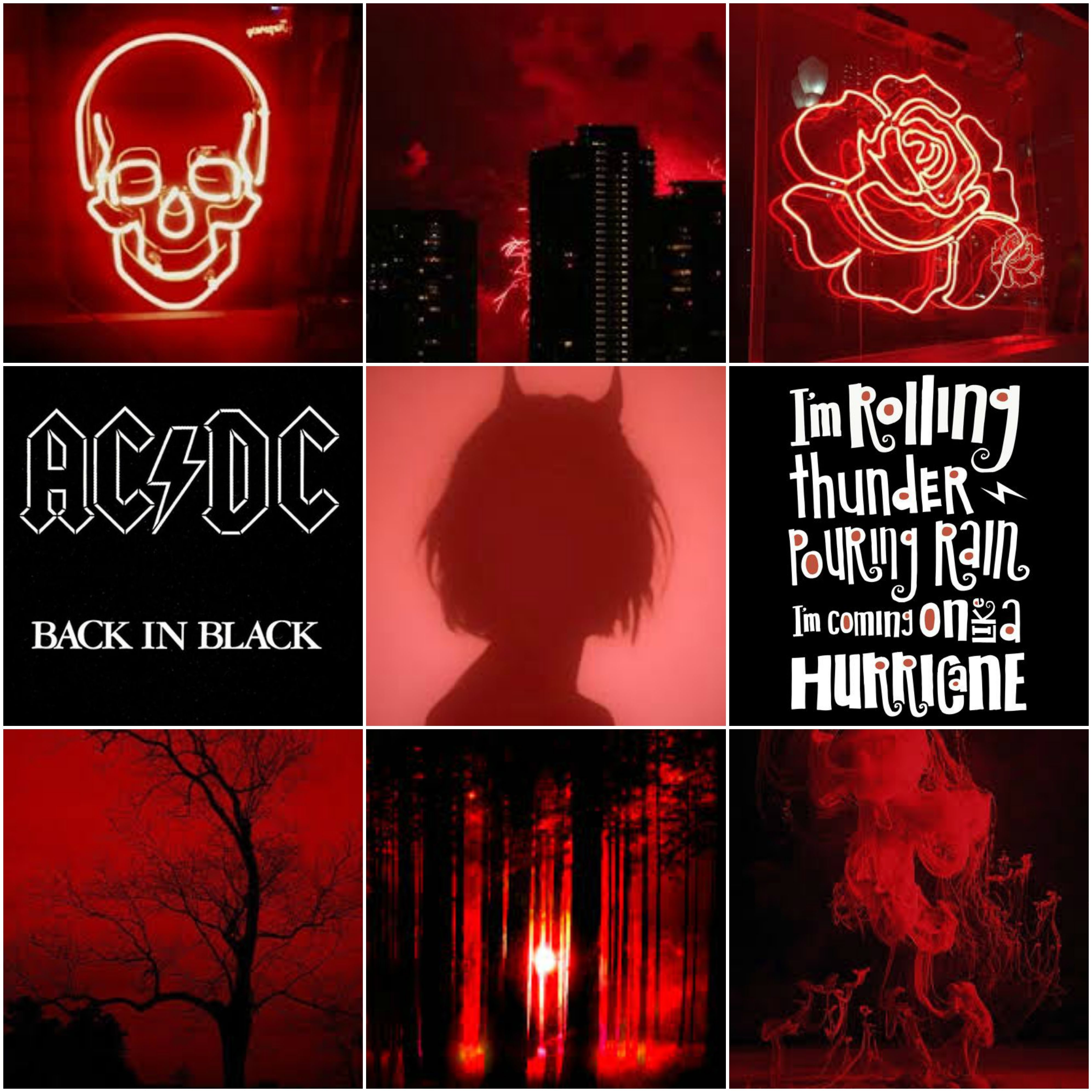 AC/DC Mood Board in 2020 Mood, Aesthetic colors, Emo love