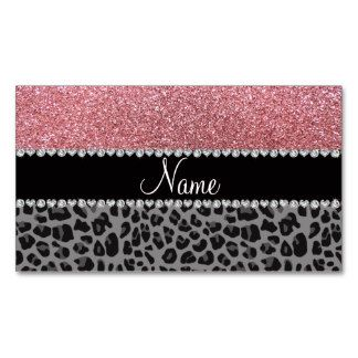 Name pastel pink glitter black leopard business card ideas name pastel pink glitter black leopard business card colourmoves Image collections