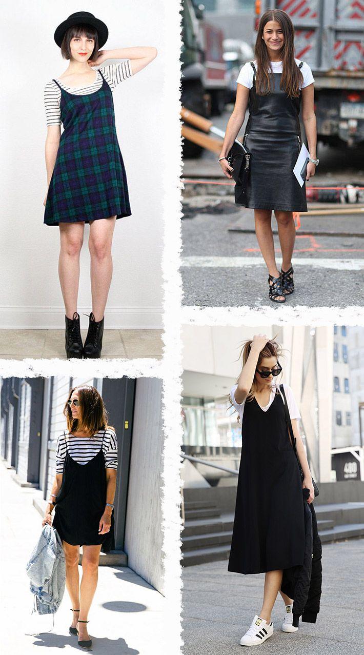 Vestido Com Camiseta Por Baixo Looks Pinterest Dresses
