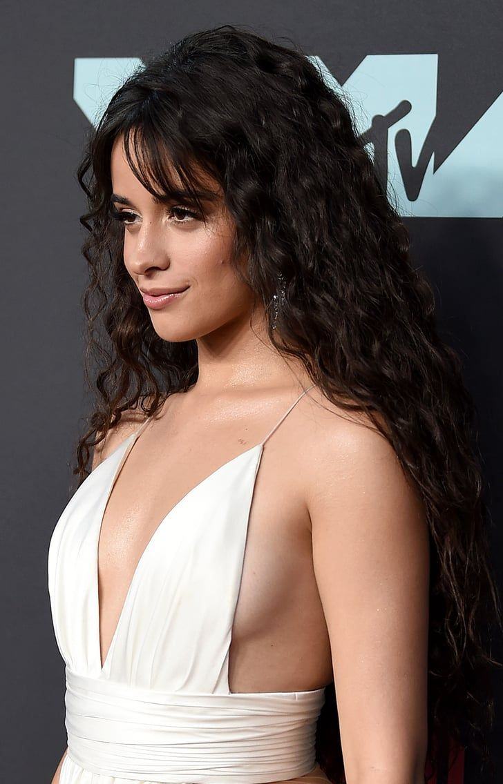 Camila Cabellos VMAs Gown Looks So Angelic, Until You See Those Cut Outs