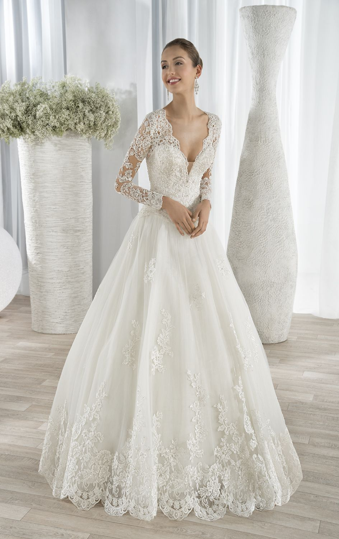 Style 646 by Demetrios – Steal Christine Bleakley's wedding dress style #wedding #dress
